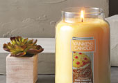 Only $10 with a $25 purchase: Warm Pineapple Upside Down Cake Candle