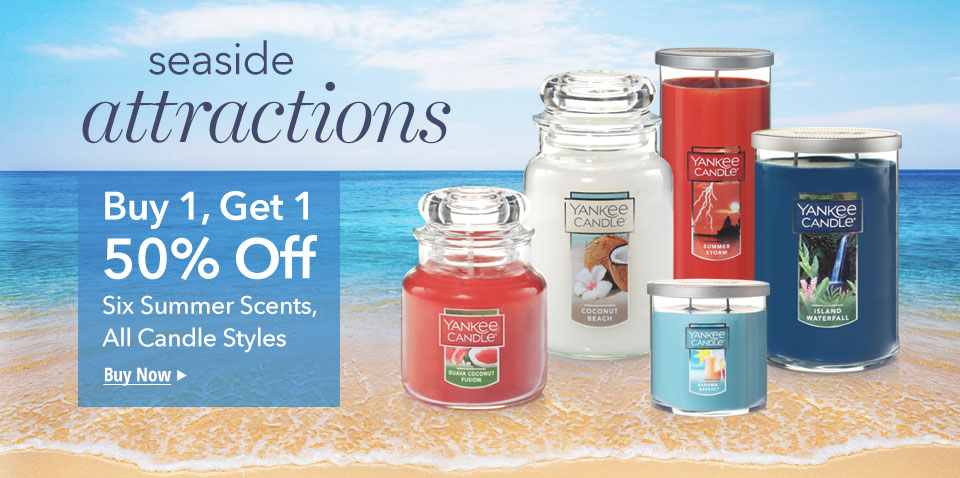 Seaside attractions Buy 1, Get 1 - 50% Off