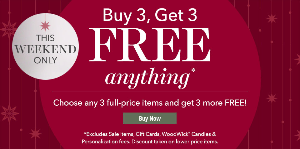 Buy 3, Get 3 Free. Shop Now