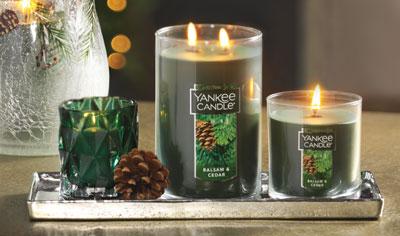 The Season Starts With Balsam Cedar