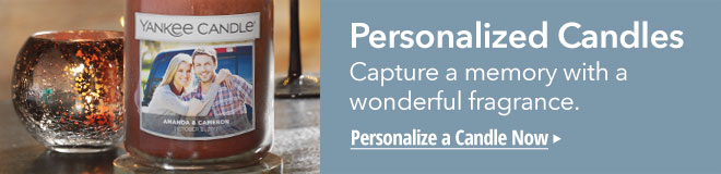 Create a Personalized Photo Candle.