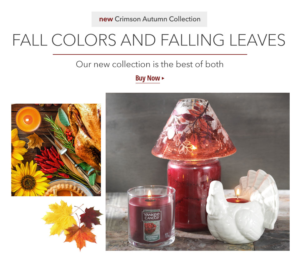 New Crimson Autumn Collection: Fall Colors and Falling Leaves. Our new collection is the best of both. Buy Now