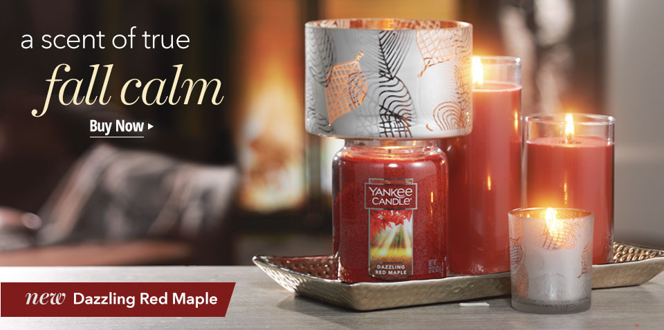 a scent of true fall calm. new Dazzling Red Maple