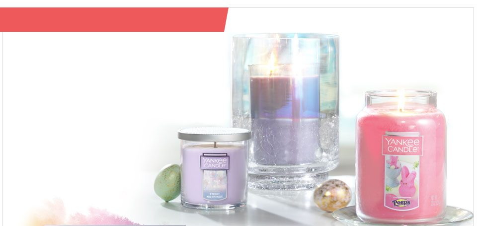 New Easter Candles And Accessories