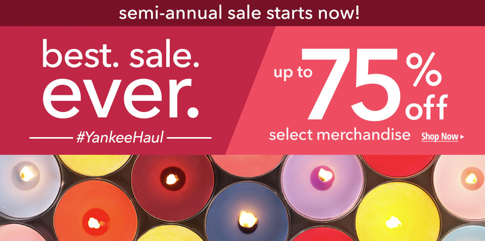 semi annual sale starts now! Best. sale. ever. up to 75% off select merchandise