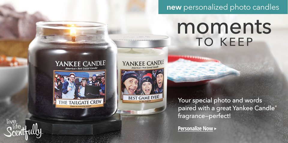Personalized Candles in 3 Easy Steps