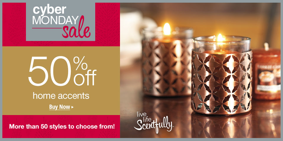 50% off Select Accents