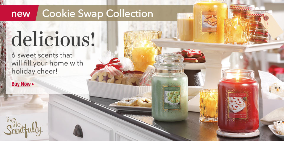 New Cookie Swap Candle Fragrance Collection