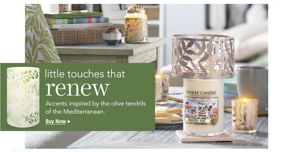 New Spring Candle Accessories