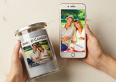 Give your sweetheart a Personalized Photo Candle