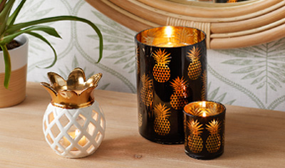 TROPICAL CANDLE ACCENTS