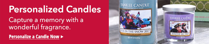 Personalized Photo Candles - the perfect gift