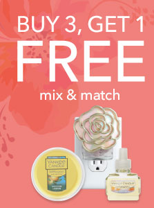 Buy 3, Get 1 FREE. Mix & Match