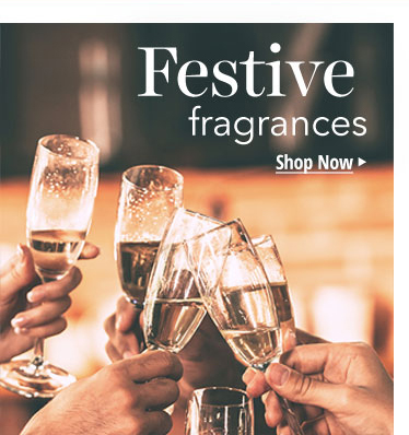 Festive Fragrances: Fragrances perfect for the holiday season.