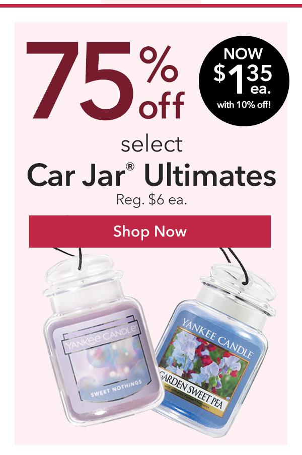 75% Off Select Car Jar® Ultimates