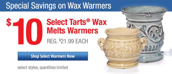 $10 Select Tarts® Wax Melts Warmers