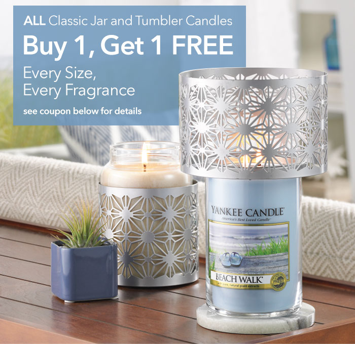 Yankee candle buy 1 get 1