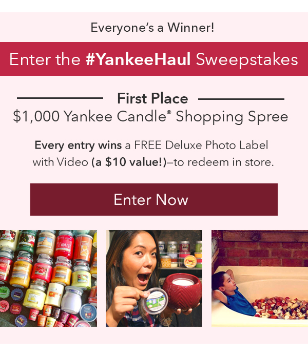Enter the #YankeeHaul Sweepstakes