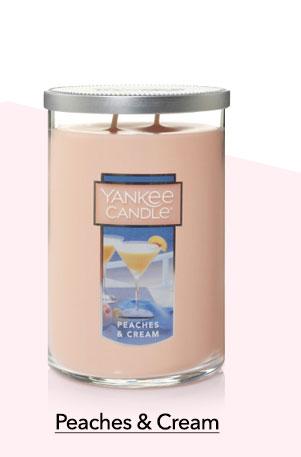Peaches & Cream Large Tumbler Candle