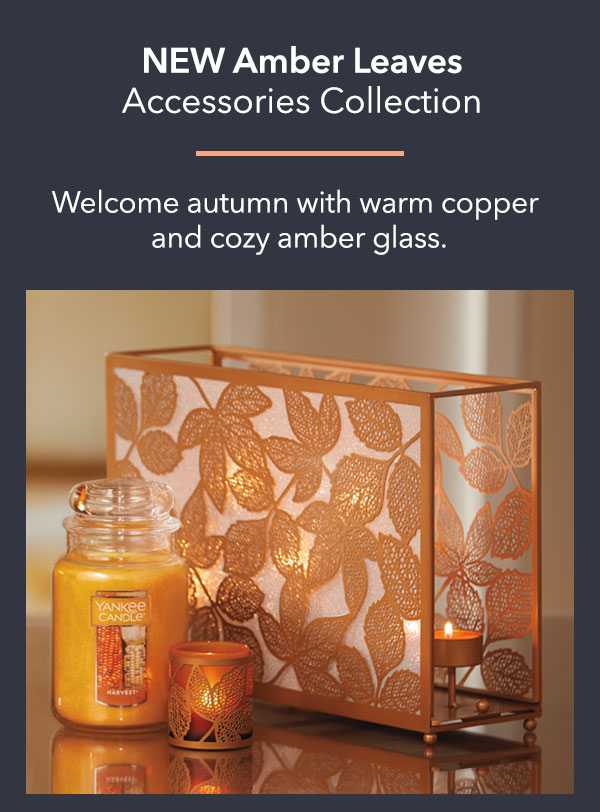 NEW Amber Leaves Accessories Collection