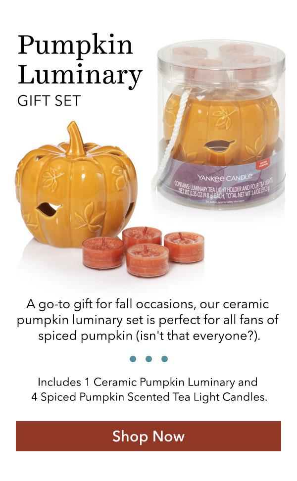 Pumpkin Luminary Gift Set