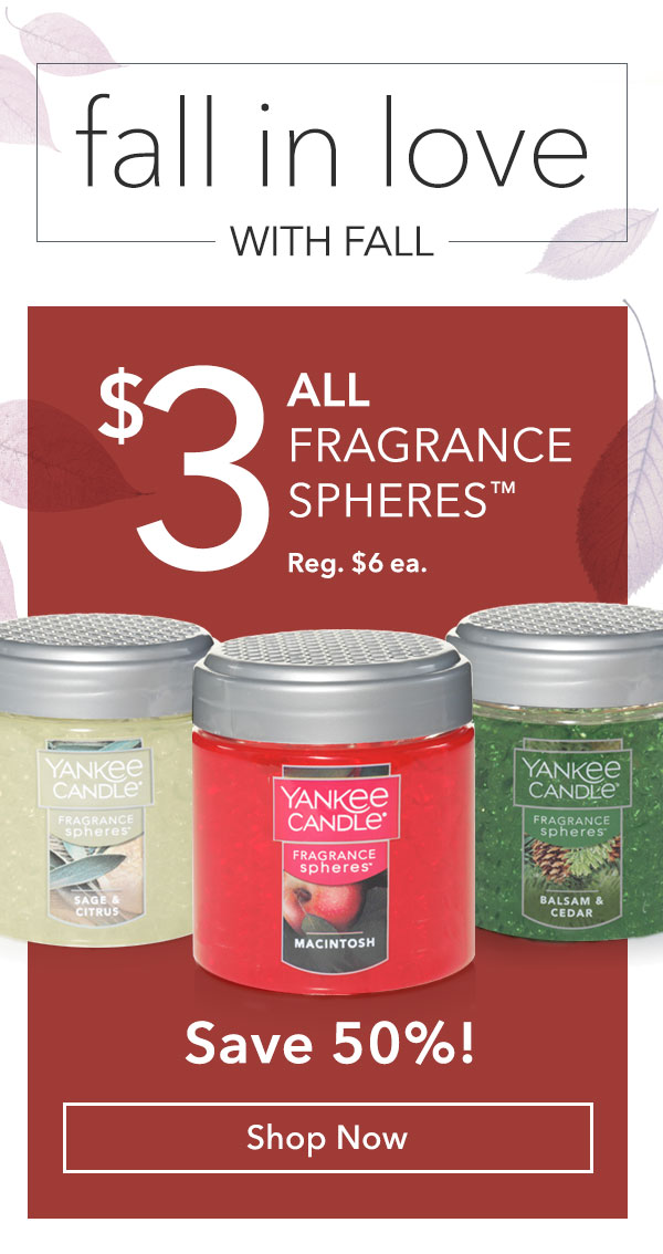 $3 All Fragrance Spheres