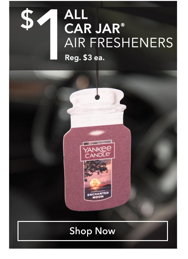 $1 All Car Jar Air Fresheners