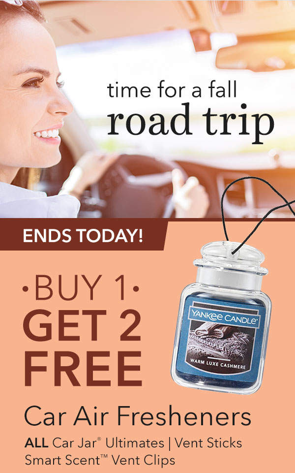 Buy 1, Get 2 FREE - Select Car Air Fresheners
